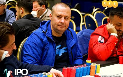 IPO San Marino, il count al dinner break con Speranza sempre chip leader a 24 left