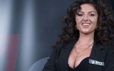"""Giulia Beretchi è la madrina di IPO e si presenta ai players: """"E' il torneo che mi ha lanciata come dealer, un onore rappresentarlo"""""""