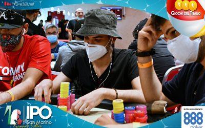 """Sempre Shehadeh al comando del Day2 di IPO 888Poker San Marino! Al Day3 vanno in 34 per puntare ai  super premi della prize pool, oltre 65.000 al winner"""""""