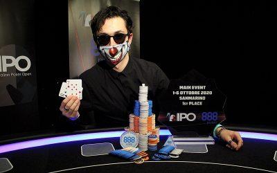 IPO 888Poker San Marino laurea una stella del poker italiano: Andrea Radicchi vince su 1.455 entries e superando qualsiasi bad run!