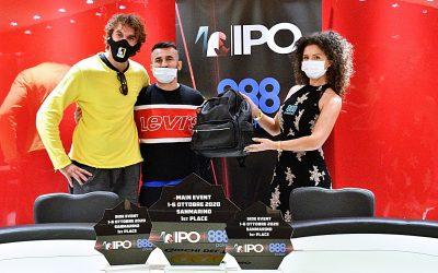 IPO 888Poker San Marino, De Martino elimina Glen e i 140 players left vanno tutti a premio! Oltre 670mila euro da spartire!