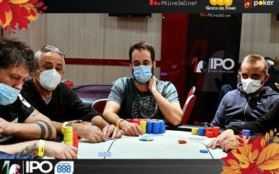 IPO 888Poker San Marino, 100 left alla prima pausa e comanda Stefano Politi con 1,7 milioni! Gli Assi benedetti e maledetti per Monari, Callegari e Savarese