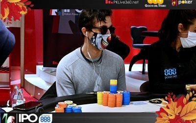 IPO 888Poker San Marino, Morra vola in testa al count ma che durezza per Radicchi e Adinolfo sopra i 5milioni! 17 left al main!