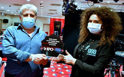IPO 888Poker San Marino, Lombardo vince il Monday Side e con Luchetti fa bis di final table! Il bubble man del main si consola