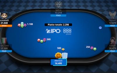 SpongeBod vince l'888Poker IPO PKO e fa boom di taglie! I reg online e live si scaldano per il main event di stasera!