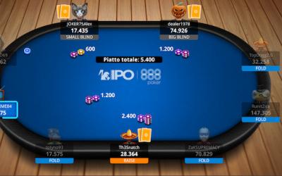 Super Deepstack e big prizepool nel Day3 delle 888Poker IPO Online Series! In evidenza anonimus996, Giannelli e Sebastiani!