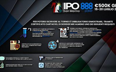 IPO888 San Marino, ecco tutte le regole per partecipare